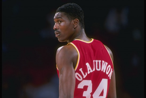 Hakeem Olajuwon, jugador de Houston Rockets