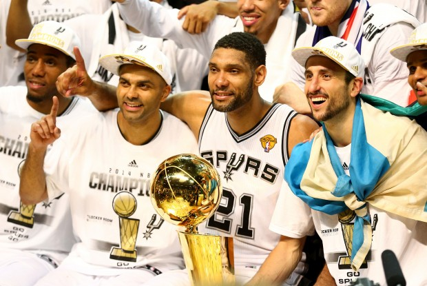 San Antonio Spurs./ Getty Images