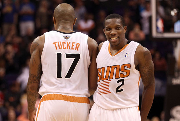 Eric Bledsoe y P.J. Tucker / Getty Images