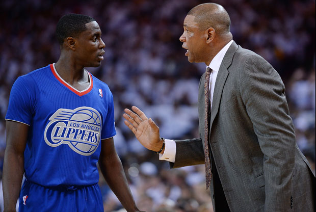 Darren Collison y Doc Rivers / Getty Images