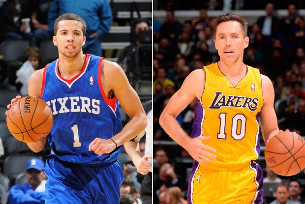 Michael Carter-Williams y Steve Nash./ Getty Images