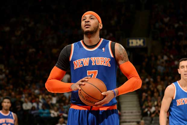 Carmelo Anthony / Getty Images