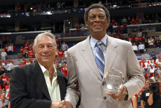 Donald Sterling y Elgin Baylor./ Getty Images