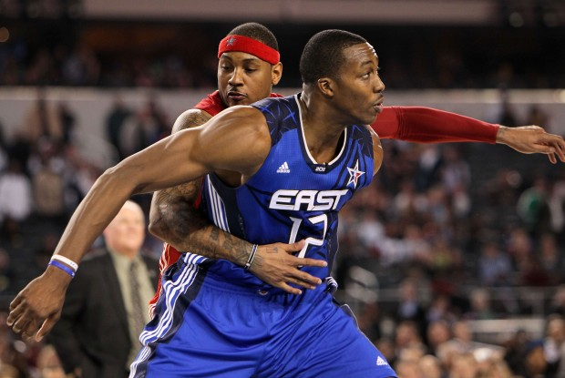 Carmelo Anthony y Dwight Howard./ Getty Images