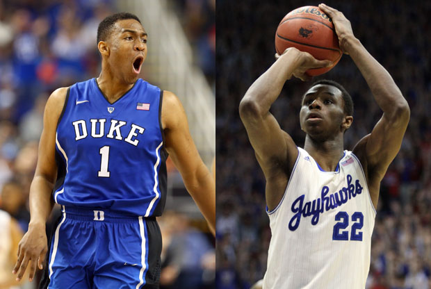 Jabari Parker y Andrew Wiggins / Getty Images