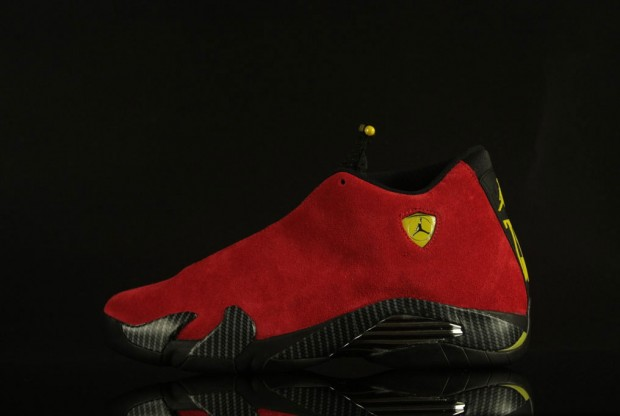 Air Jordan - XIV 'Ferrari Red Suede'