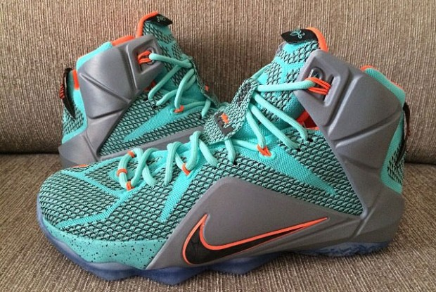 Nike - LeBron 12 'Teal Grey/Orange'