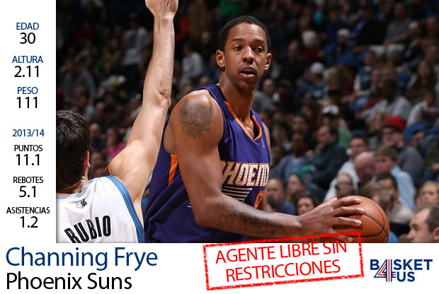Channing Frye./ Getty Images