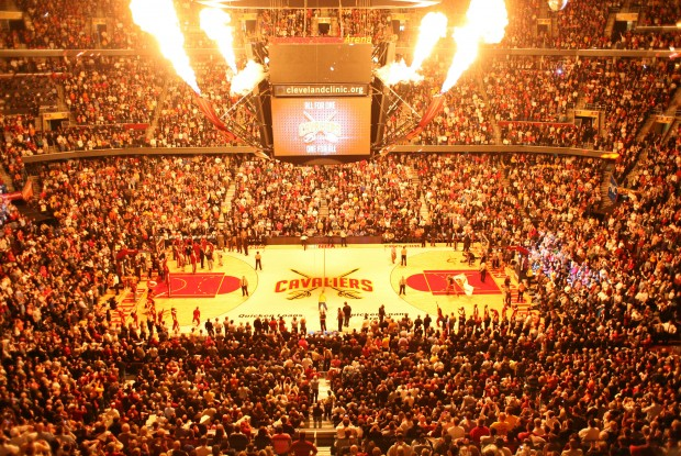 Cleveland Cavaliers Arena./ Getty Images