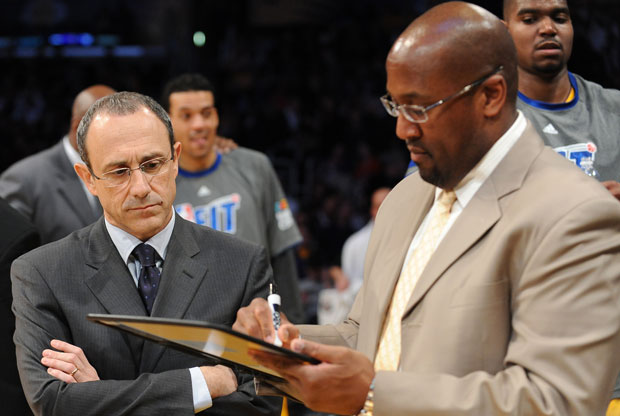 Ettore Messina y Mike Brown / Getty Images