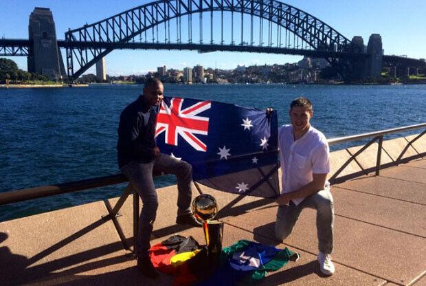 Larry O'Brien Australia / Spurs.com