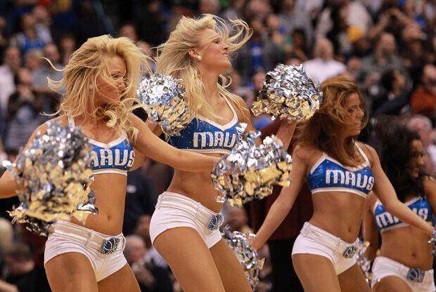 Dallas Mavericks cheerleaders / Getty Images