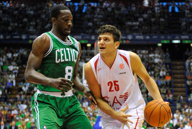 Alessandro Gentile y Jeff Green / Getty Images