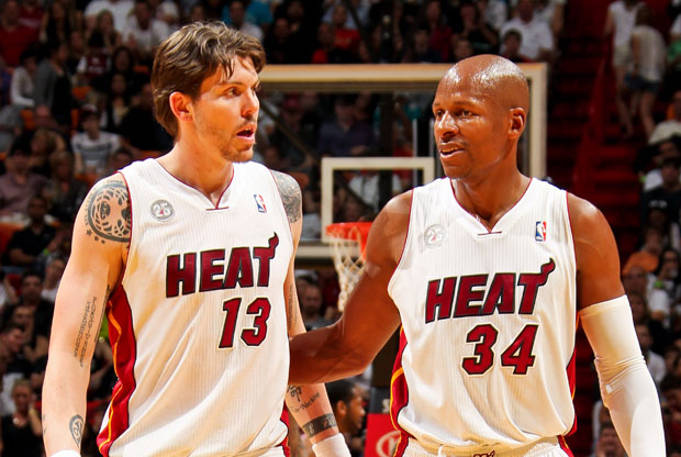Mike Miller y Ray Allen / Getty Images