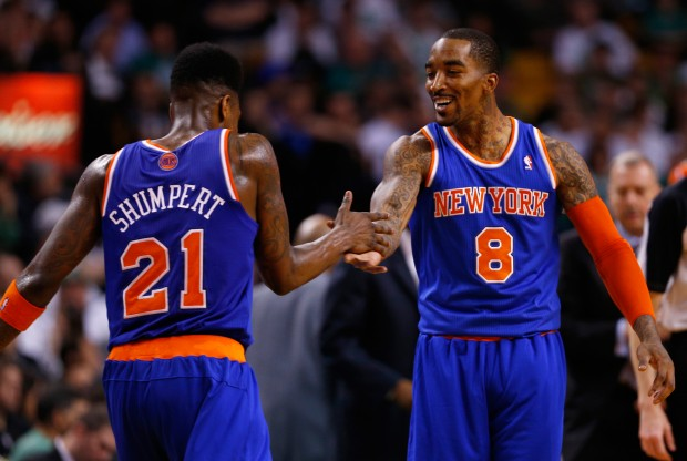 Iman Shumpert y J.R. Smith./ Getty Images