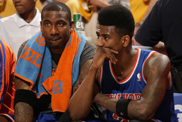 Amar'e Stoudemire e Iman Shumpert / Getty Images
