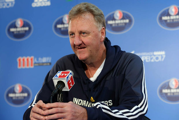 Larry Bird / Getty Images