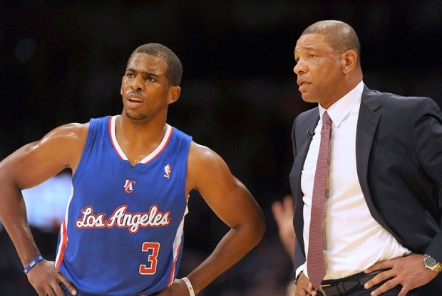 Chris Paul y Doc Rivers / Getty Images