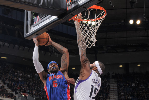 Josh Smith y DeMarcus Cousins / Getty Images