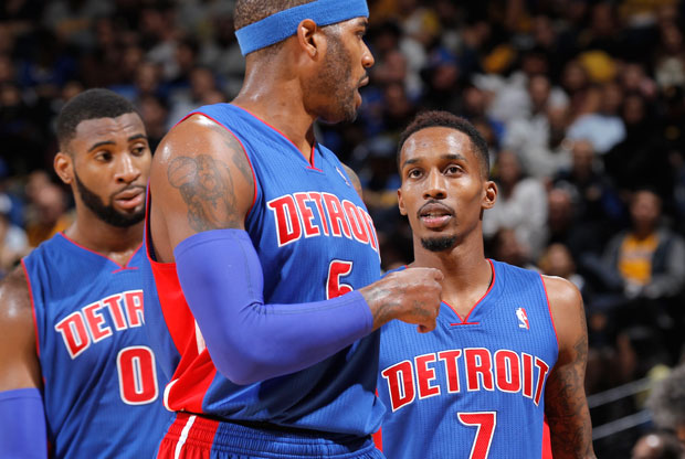 Josh Smith, Brandon Jennings, Andre Drummond / Getty Images