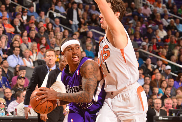 Isaiah Thomas y Goran Dragic / Getty Images
