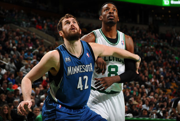 Kevin Love y Jeff Green / Getty Images