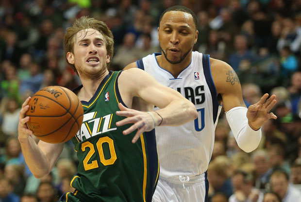 Gordon Hayward y Shawn Marion / Getty Images