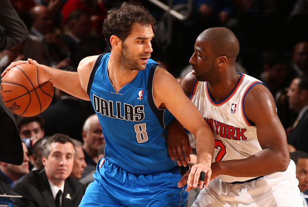 Jose Manuel Calderon y Raymon Felton / Getty Images