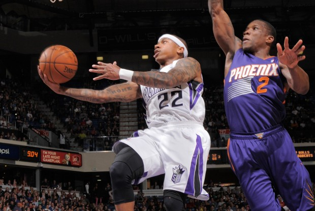 Isaiah Thomas y Eric Bledsoe./ Getty Images