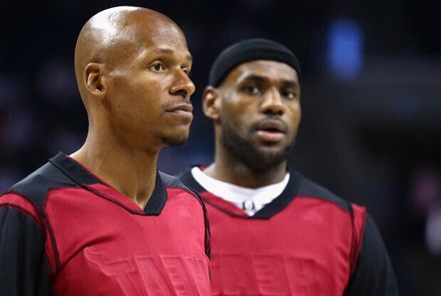 Ray Allen no jugará con LeBron James en Cleveland