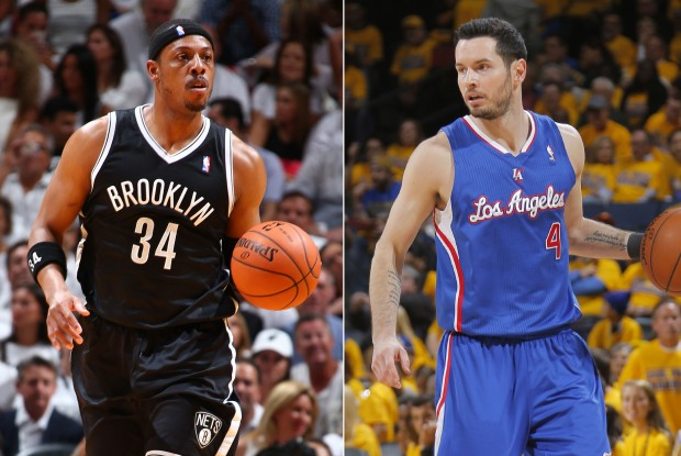Paul Pierce y J.J. Redick./ Getty Images