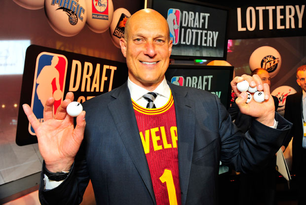 Draft Lottery / Getty Images