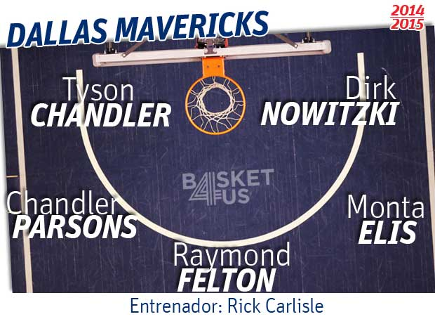 Quinteto Dallas Mavericks