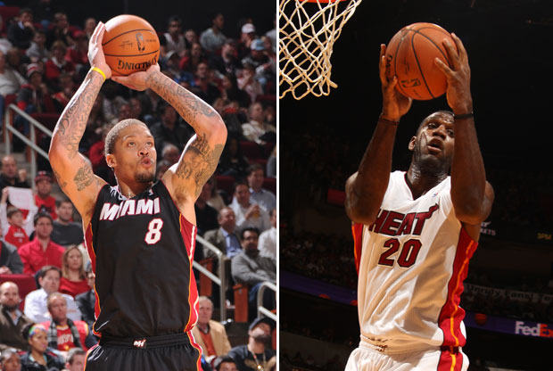 Michael Beasley y Greg Oden / Getty Images