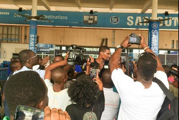 Chris Bosh en Ghana / Twitter