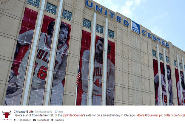 United Center / twitter.com/chicagobulls