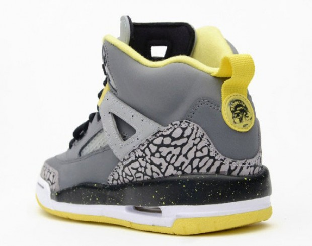 Air Jordan - Spizike 'Cool Grey/Vibrant Yellow'