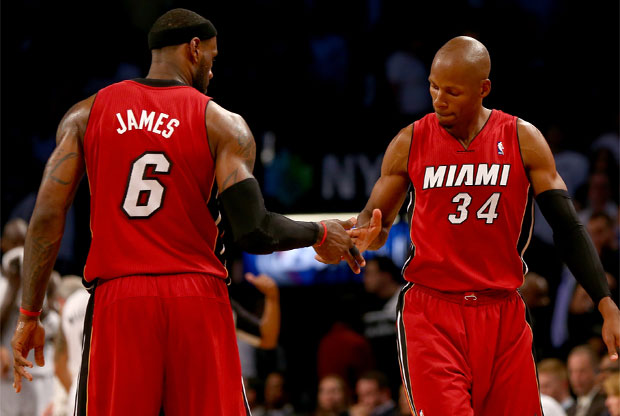 LeBron James y Ray Allen / Getty Images