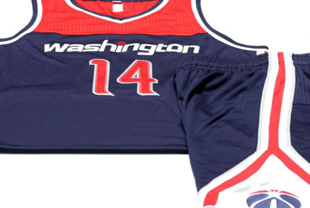 Washington Wizards renueva su uniforme de visitante