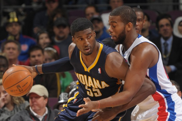 Roy Hibbert y Greg Monroe./ Getty Images