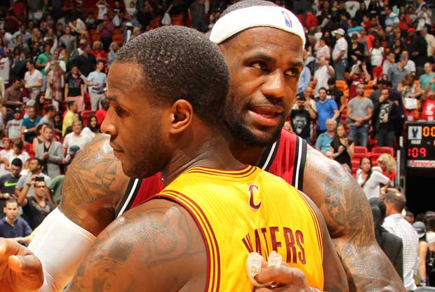 Dion Waiters, LeBron James / Getty Images