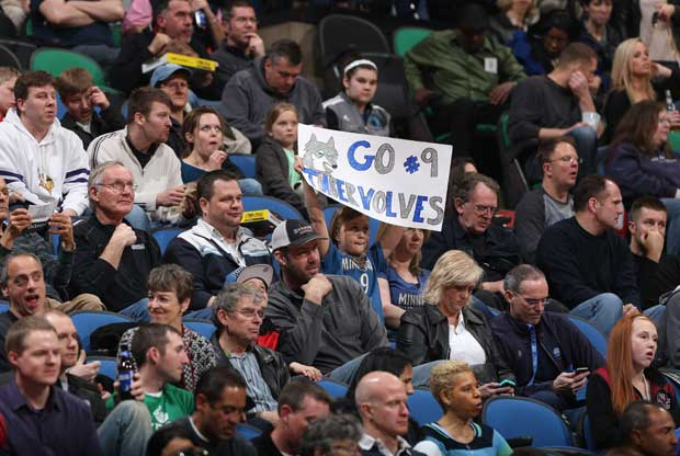 Minnesota Timberwolves fans / Getty Images