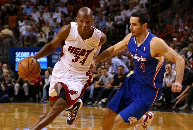 Ray Allen y J.J. Redick./ Getty Images
