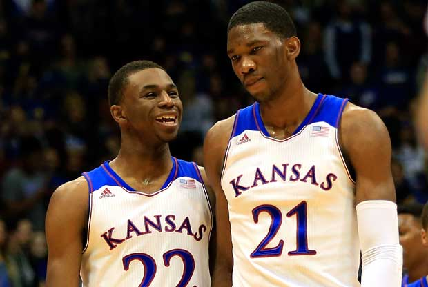 Andrew Wiggins, Joel Embiid / Getty Images
