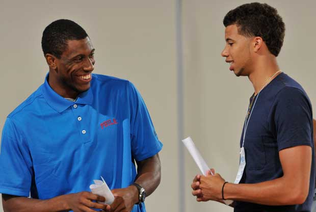 Thaddeus Young, Michael Carter-Williams / Getty Images