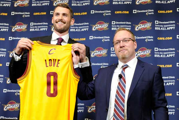 Kevin Love, David Griffin / Getty Images