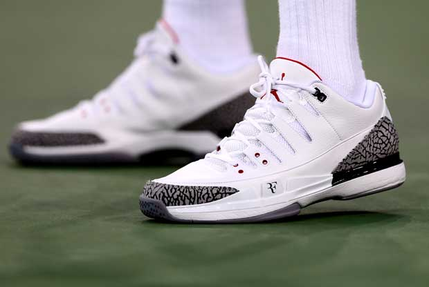 Roger Federer Air Jordan / Getty Images