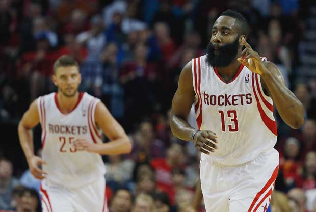 James Harden y Chandler Parsons niegan su enemistad