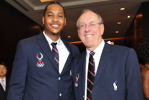 Carmelo Anthony, Jim Boeheim / Getty Images