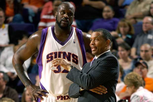 Alvin Gentry, Shaquille O'Neal / Getty Images